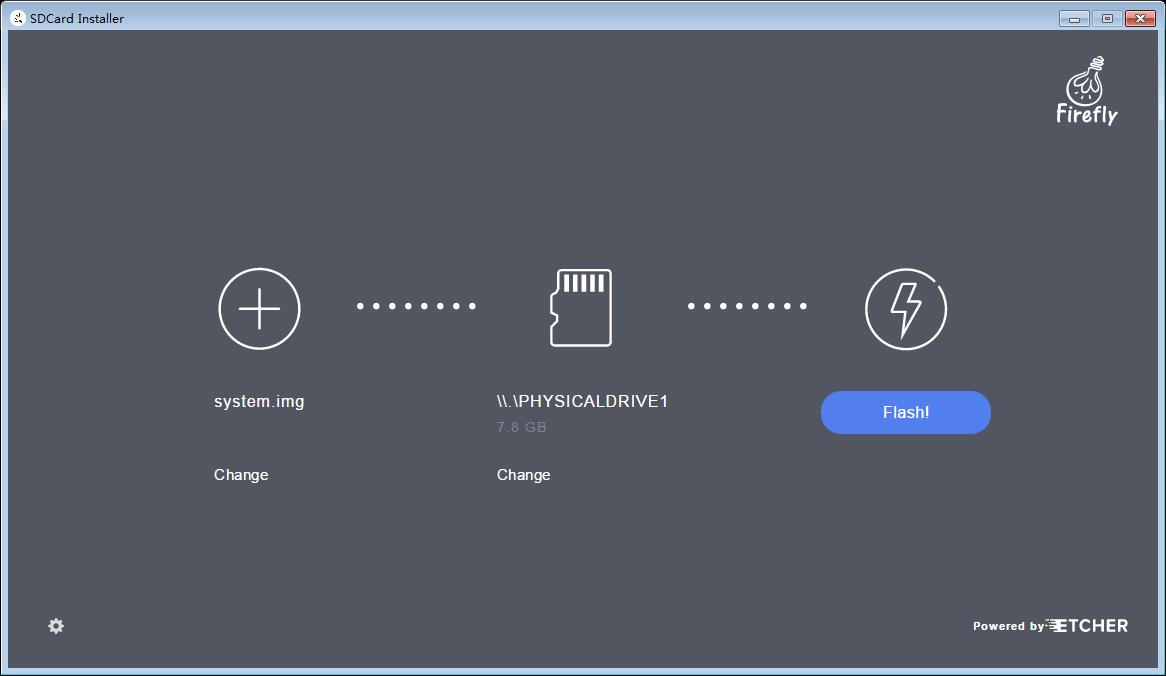 Flashing to SD Card in Windows — Firefly-Board Manual 1 0 0